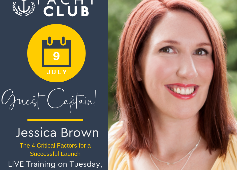 Captain Training: Factors of a Successful Launch with Jessica Brown