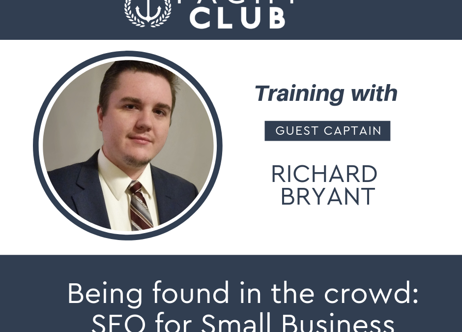 Captain Training: SEO with Richard Bryant