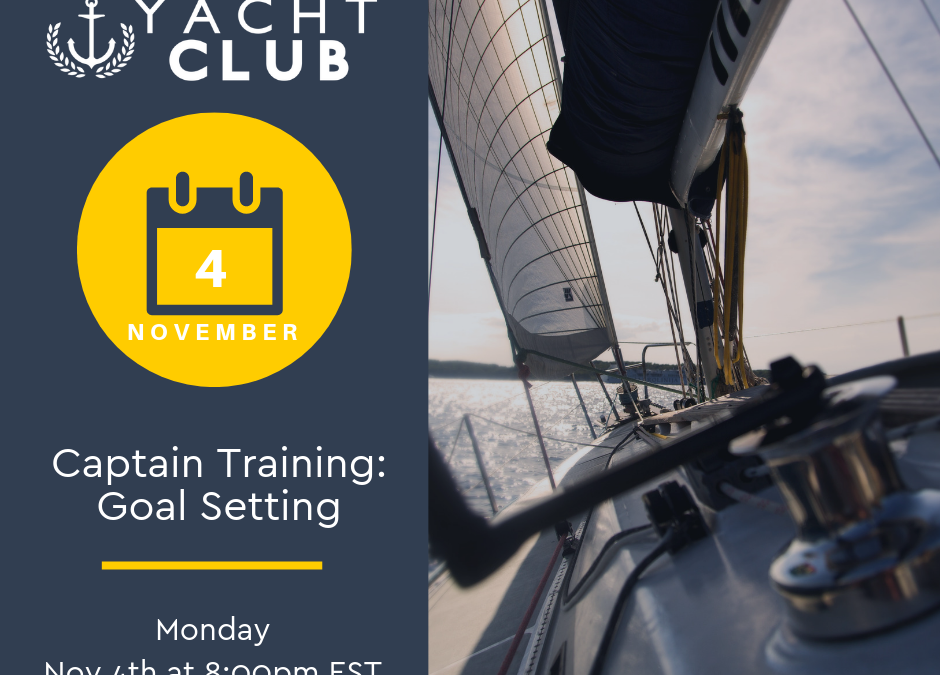 Captain Training: Goal Setting