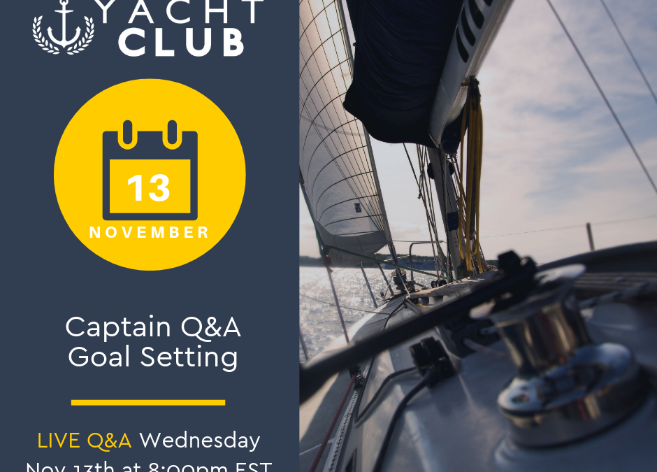 Captain Q&A: Goal Setting