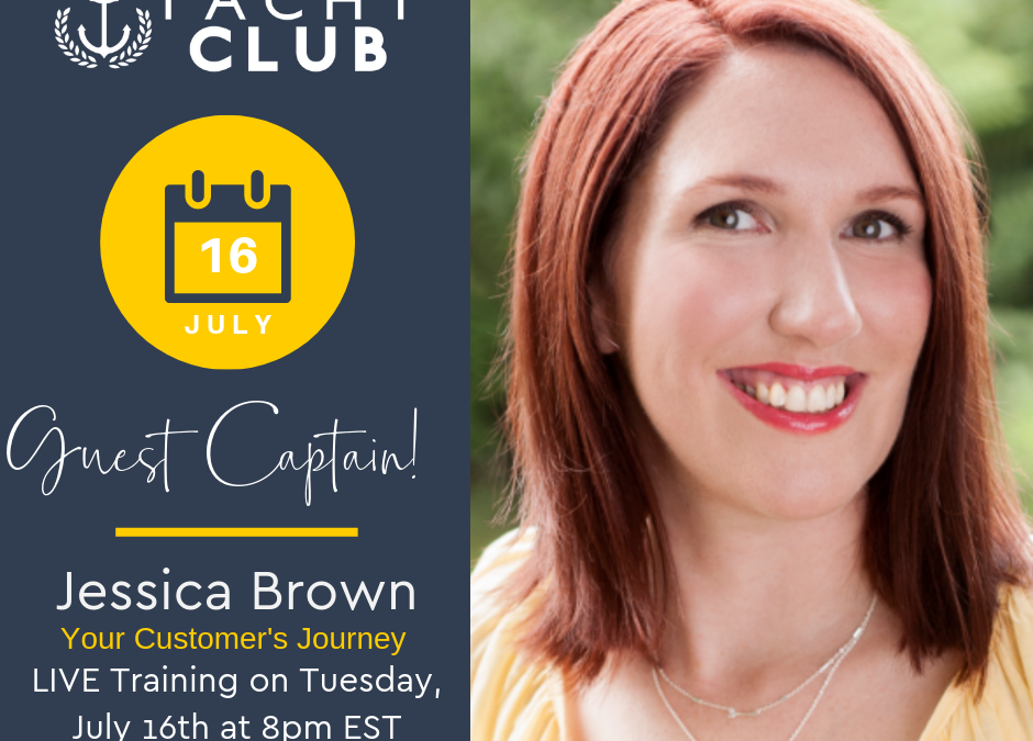 Captain Training: Your Customers Journey with Jessica Brown