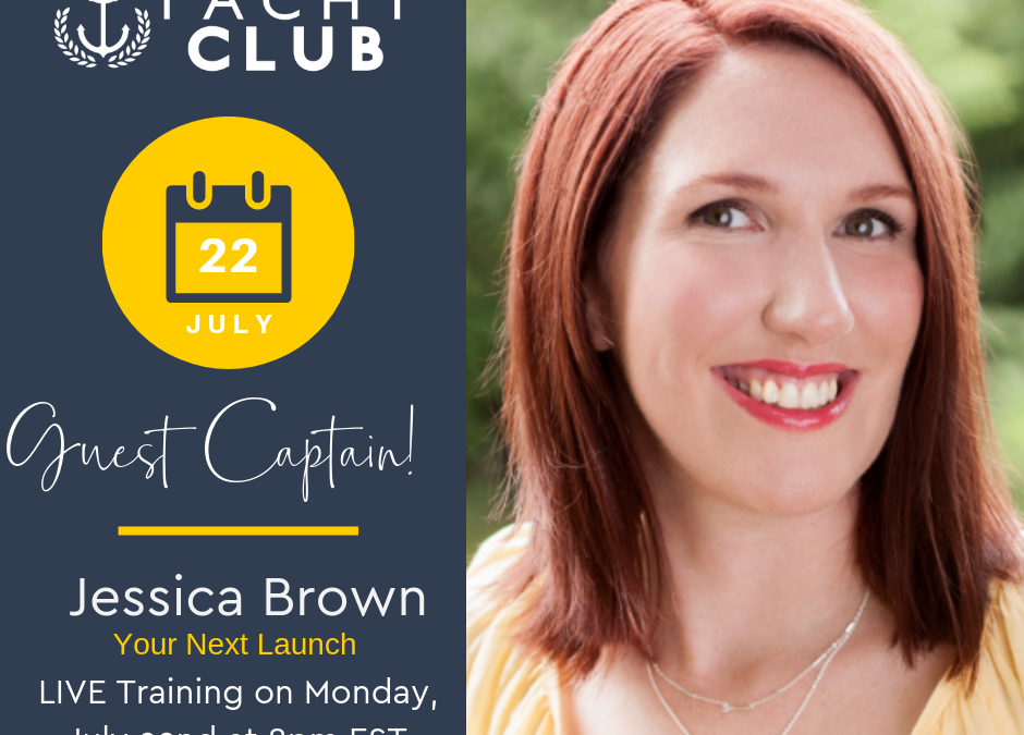 Captain Training: Your Next Launch with Jessica Brown