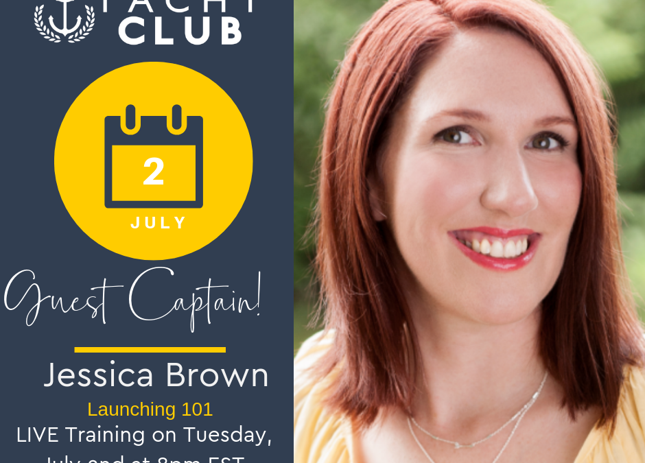 Captain Training: Launching 101 with Jessica Brown