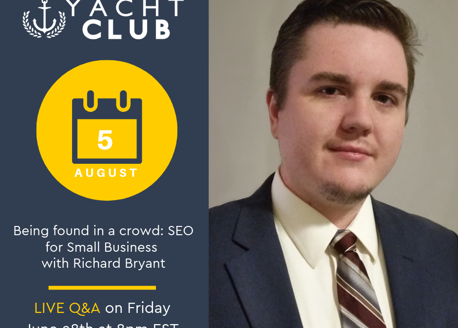 Captain Q&A: SEO with Richard Bryant