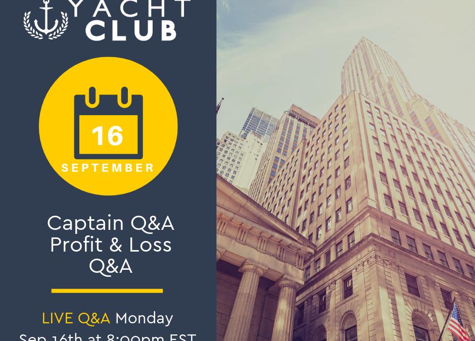 Captain Q&A: Profit & Loss